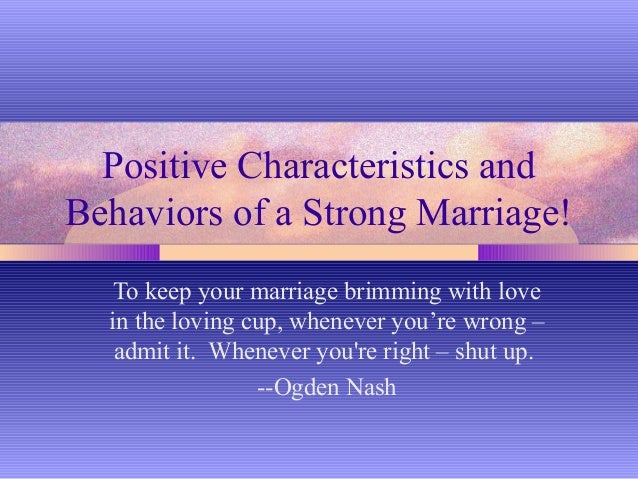 Postive characteristics and_behavior_of_strong_marriage_1__2_