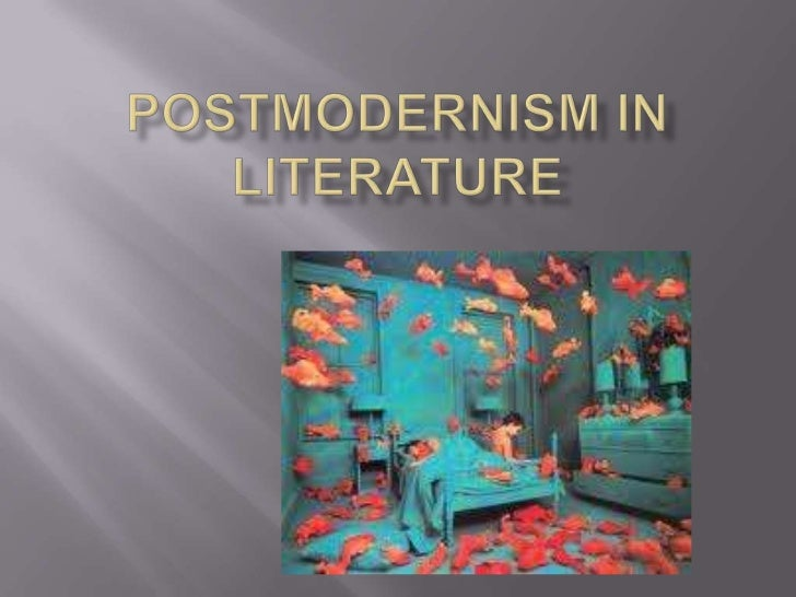 The rejection of the idea of modernism and encouraging the use ofelements from historical and literature formats while pla...