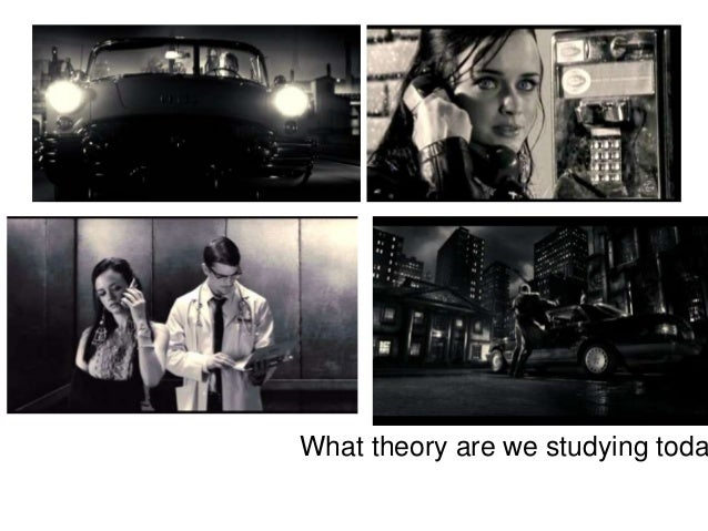 What theory are we studying toda