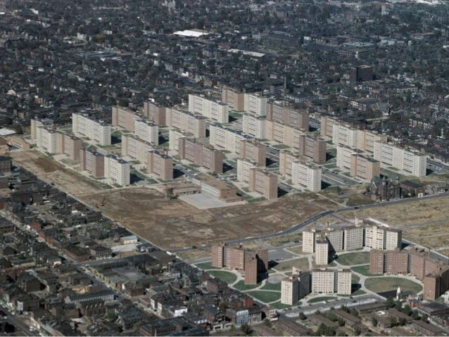 Pruitt-Igoe Housing Project, St. Louis, Missouri, 1954MODERNISM