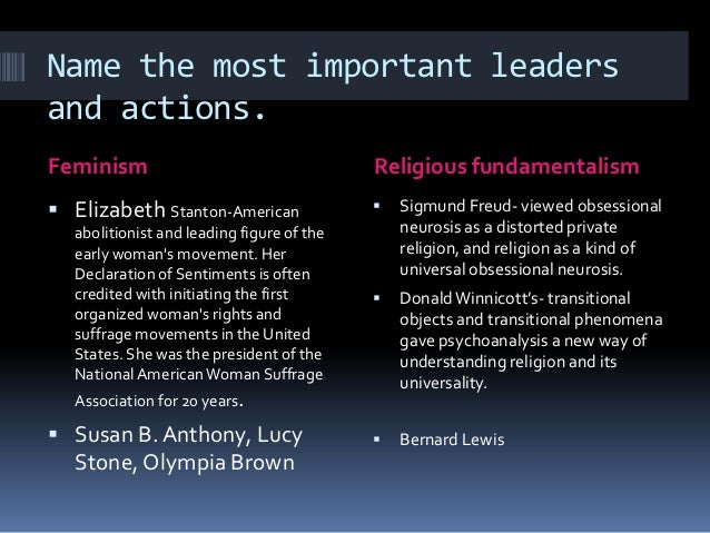 Feminism and religion essay contest