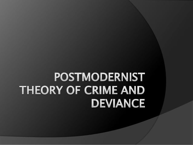 Overview   Postmodern theorists argue that we now live in a post    modern world characterized by diversity and    fragme...