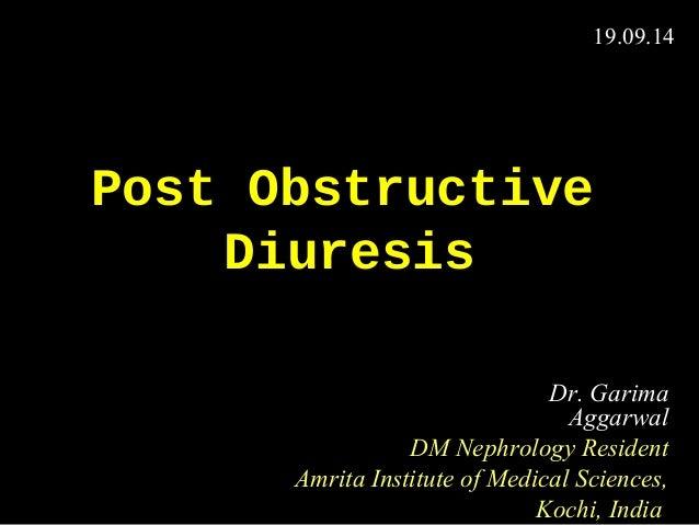 post obstructive diuresis pdf free