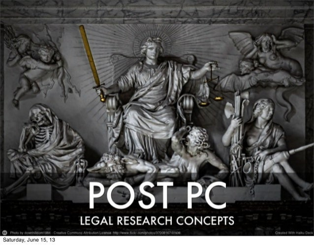 Post PC Legal Research