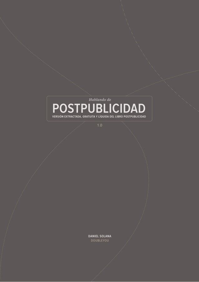 Postpublicidad. Versión líquida 1.0