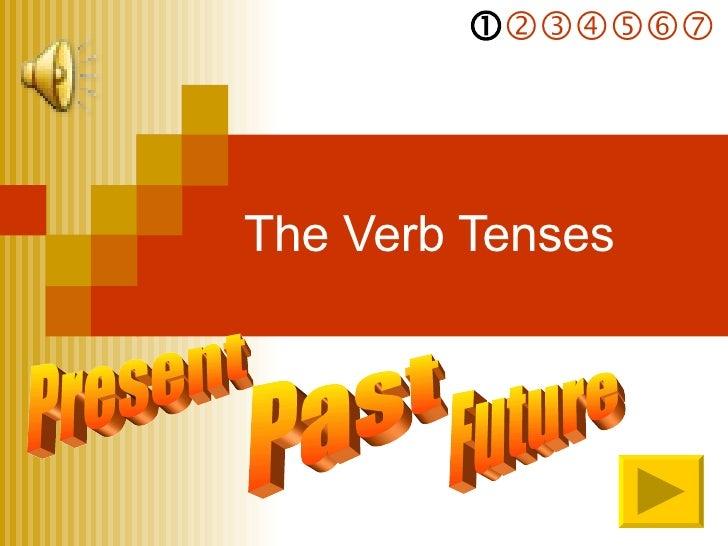 The Verb Tenses Present    Past  Future