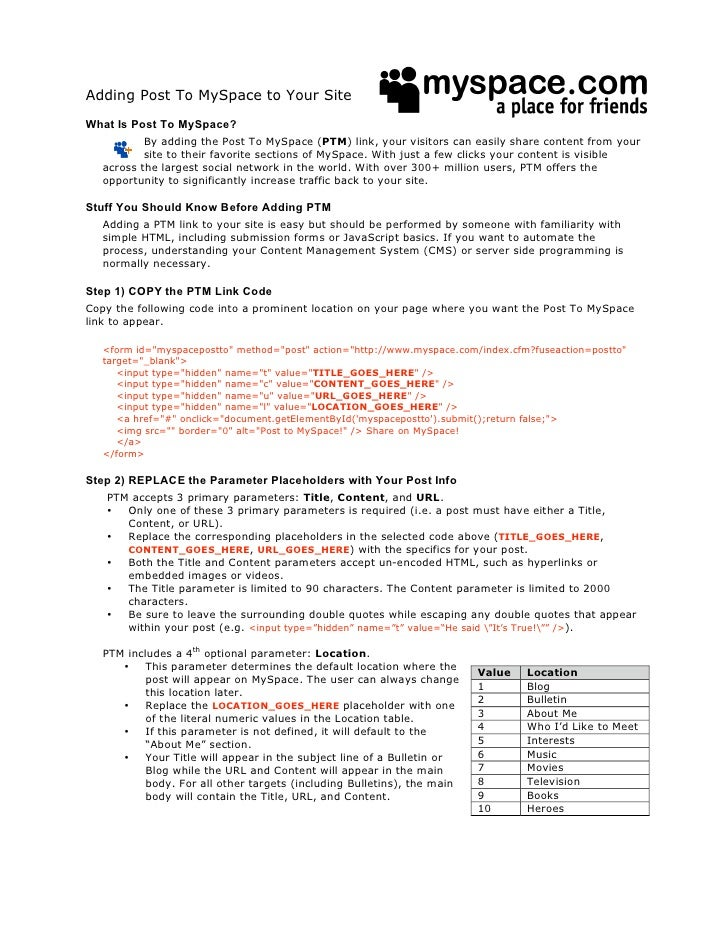 Posttomyspacedeveloperdocumentation001