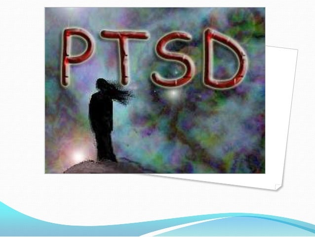  Posttraumatic stress disorder (PTSD) is a condition  marked by the development of symptoms after  exposure to traumatic ...