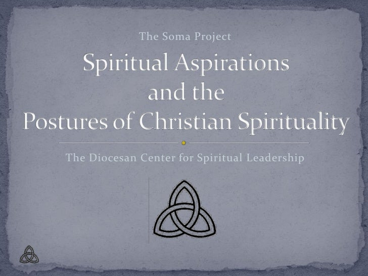 Postures of christian spirituality presentation
