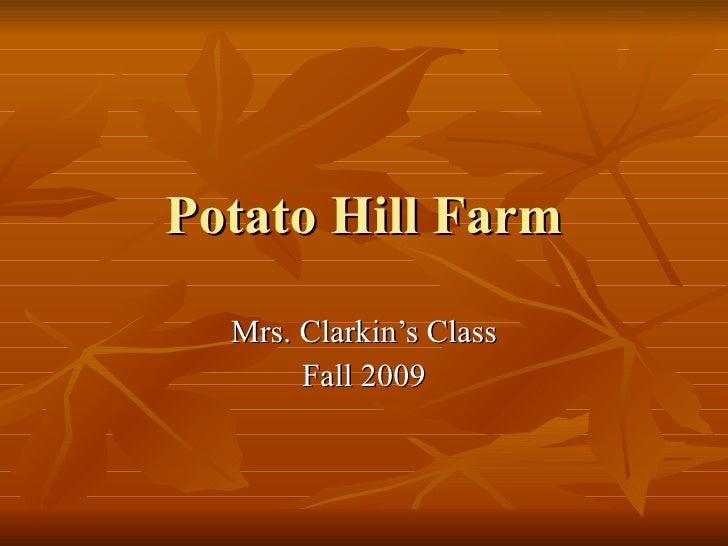Potato Hill Farm Clarkin
