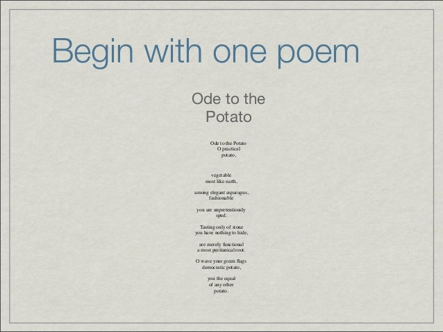ode poem examples - photo #16