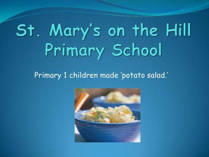 Potato salad ppt