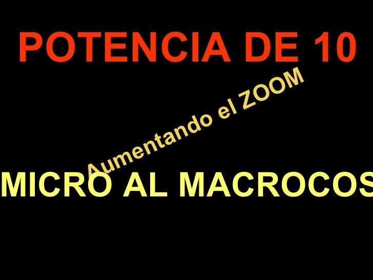 POTENCIA DE 10                              O M                        el ZO                an do            ent       A u...