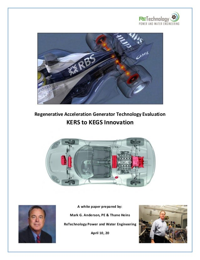 KERS To KEGS Potential Difference Regenerative Acceleration Report