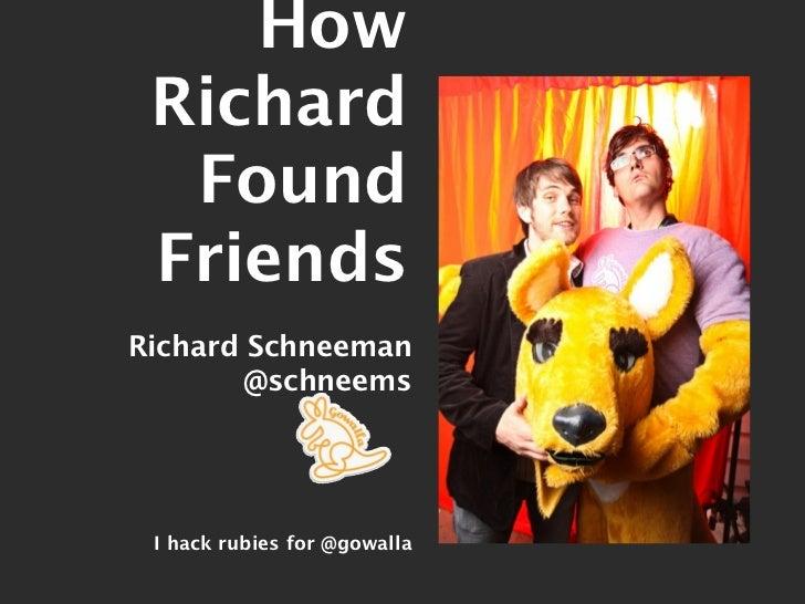 Potential Friend Finder