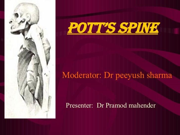 Pott Disease