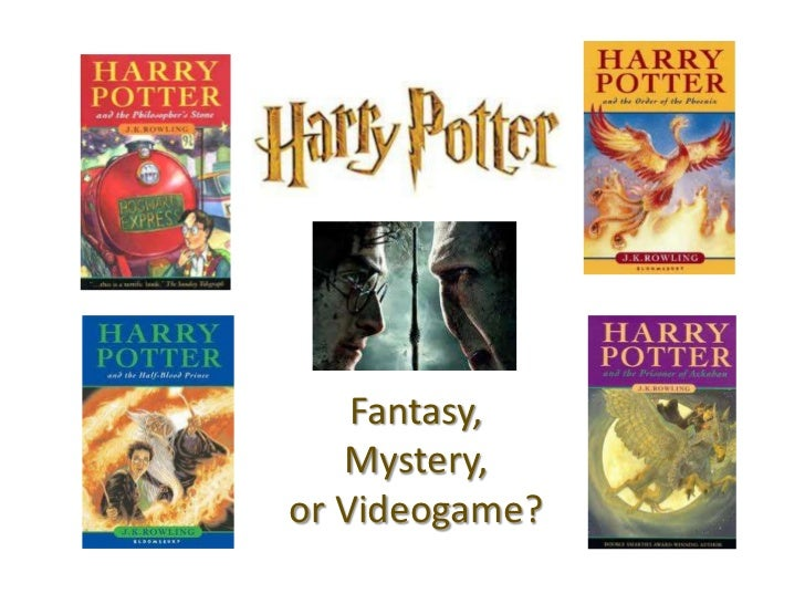Harry Potter: Heroic Fantasy, Murder Mystery, or Videogame?