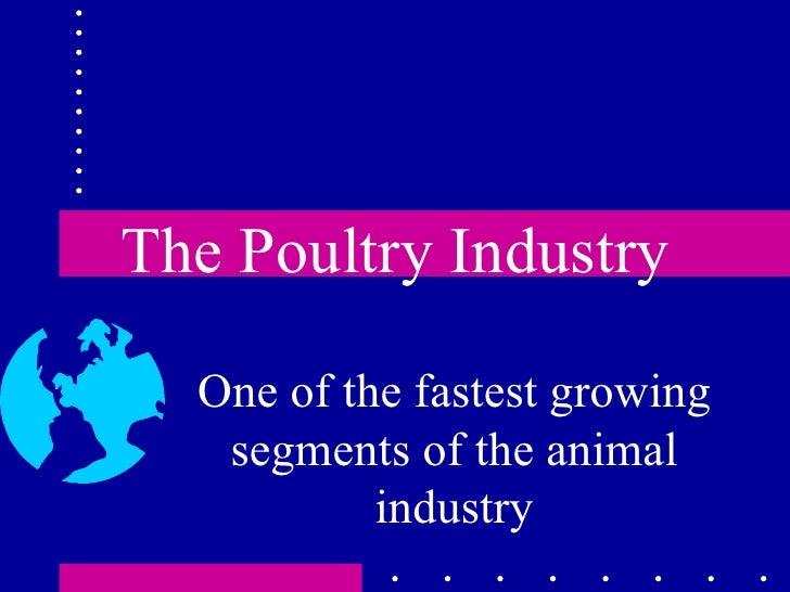 Poultry prod