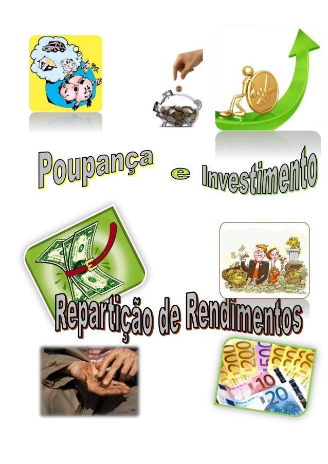 Página2 Introdução - - - - - - - - - - - - - - - - - - - - - - - Pág.3 Poupança e Investimento - - - - - - - - - - - - - -...