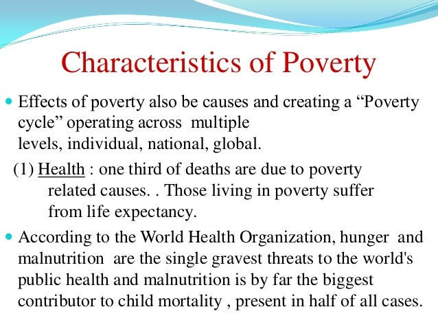 poverty and personality Munity studies on the association between poverty and common mental disorders in six low- and middle-income countries most studies showed an association between indicators of poverty and the risk of mental disorders, the most consistent association.