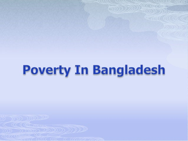 Poverty In Bangladesh