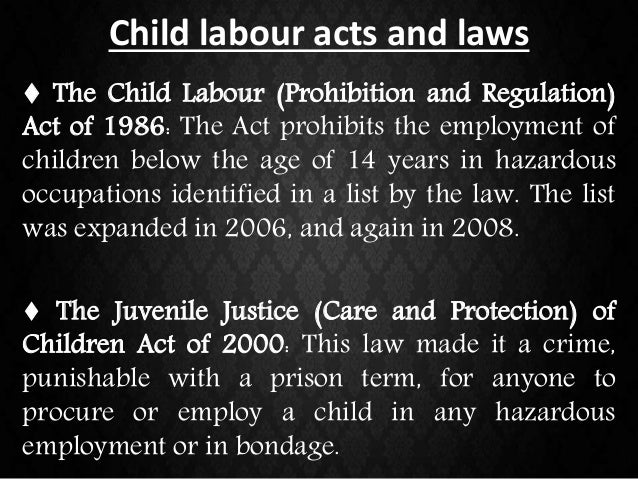 child labor refenrences Child labour and its impact on children's access to and participation in primary education a case study from tanzania by ha dachi and rm garrett 23763 dfid report 48 30/4/03 5:28 pm page 1.