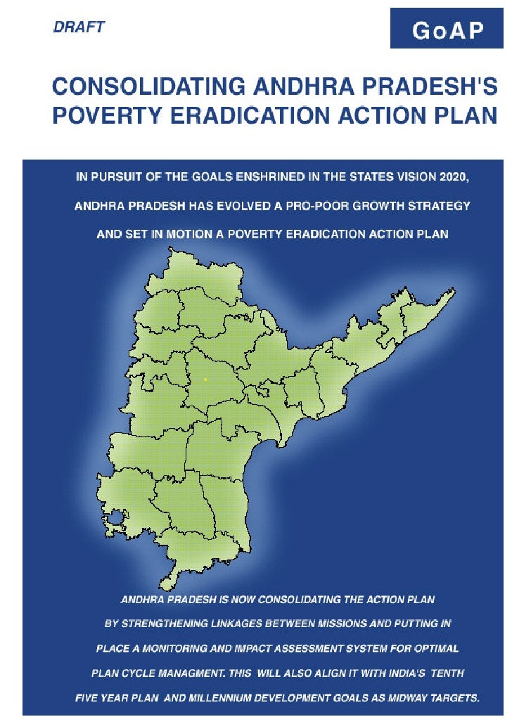 Poverty Eradication Action Plan Andhra Pradesh 2003 (draft)
