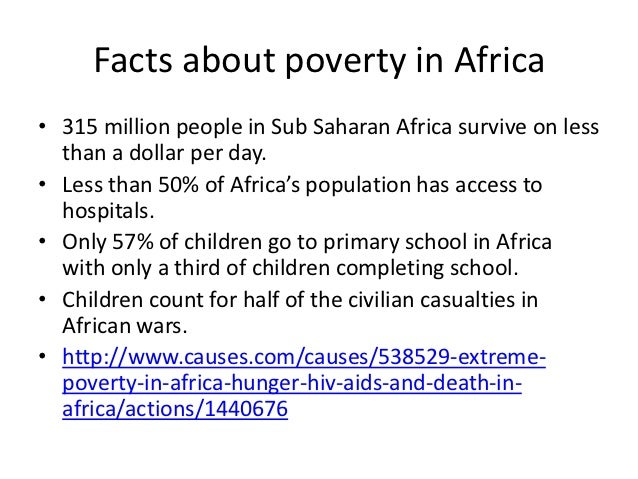 an explanation of the issue of hunger in africa South africa is considered a 'food-secure' nation, producing enough calories to adequately feed every one of its 53 million people however, the reality is that one in four people currently suffers hunger on a regular basis.