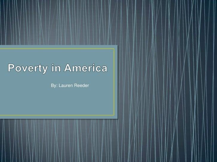Poverty in america_powepoint_lrr