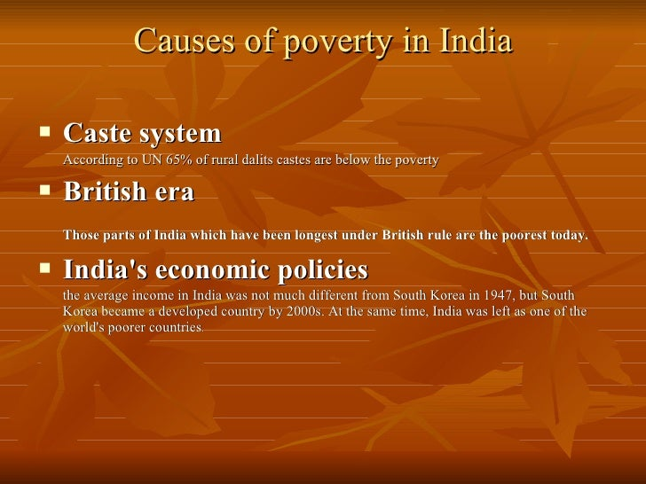 literature review on causes of poverty