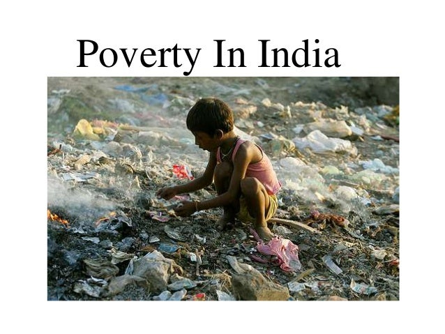 essay about poverty in india