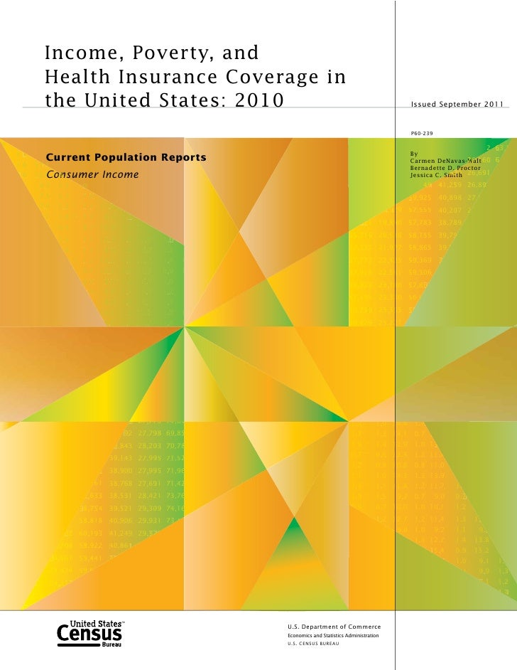Income, Poverty, and            Health Insurance Coverage in            the United States: 2010                           ...