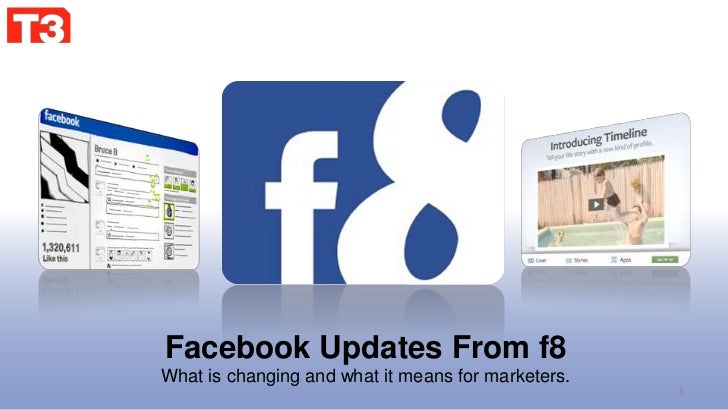 Facebook Updates From f8<br />What is changing and what it means for marketers.<br />1<br />