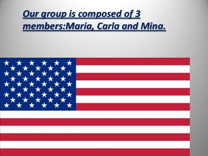 Our group is composed of 3members:Maria, Carla and Mina.