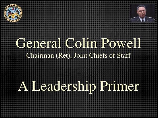 Powell on leadership