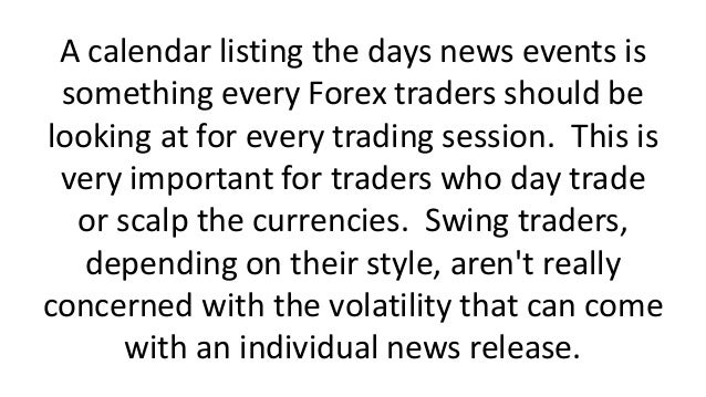 Most important forex news releases