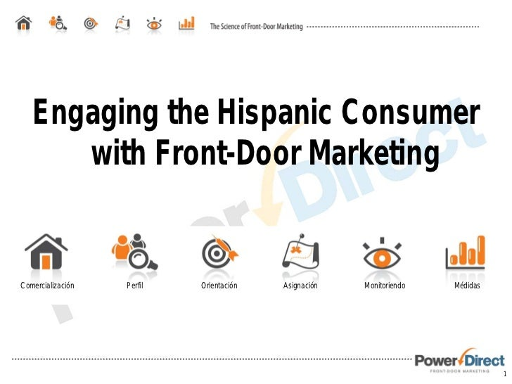 Engaging the Hispanic Consumer with Front-Door Marketing