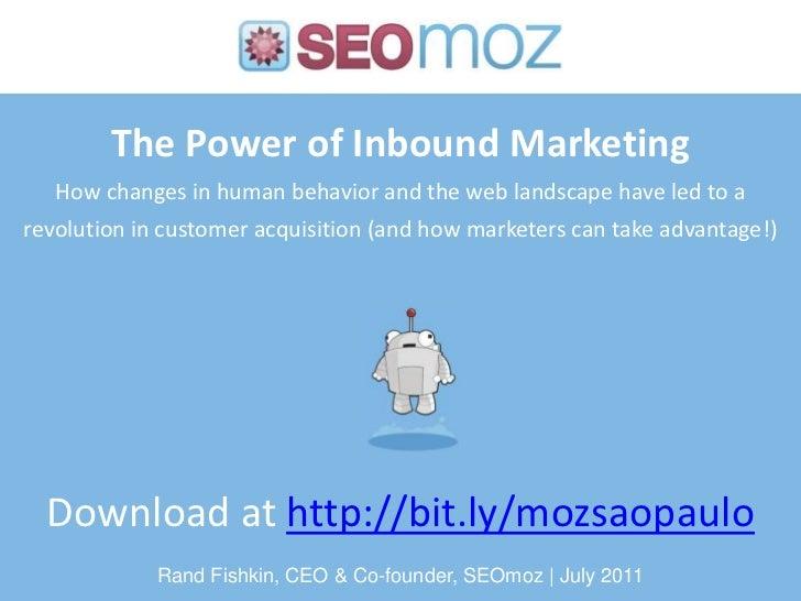 The Power of Inbound Marketing
