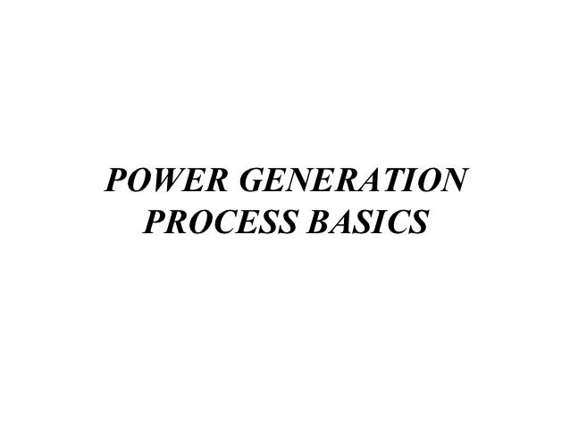 Power plant-basics