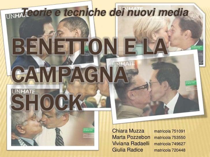 Teorie e tecniche dei nuovi media                  Chiara Muzza       matricola 751091                  Marta Pozzebon    ...