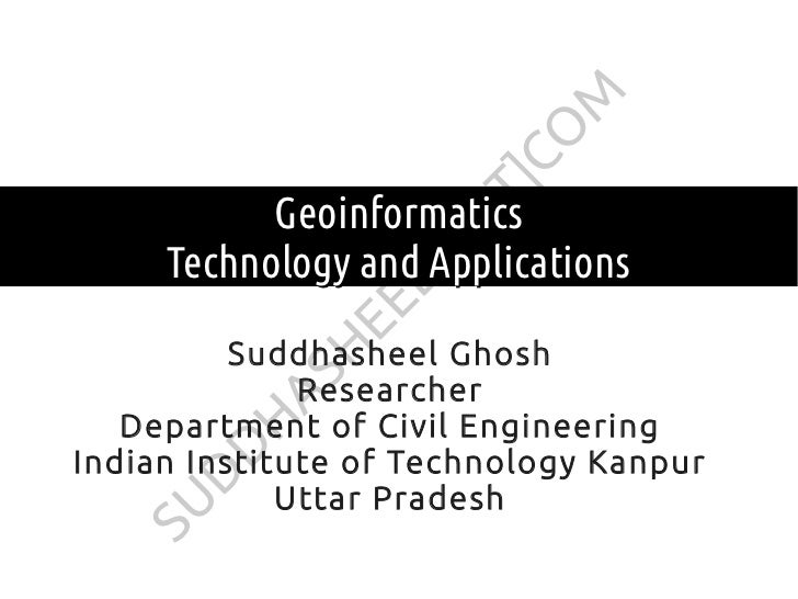 M                      CO                    T]           Geoinformatics                   O     Technology and Applicatio...
