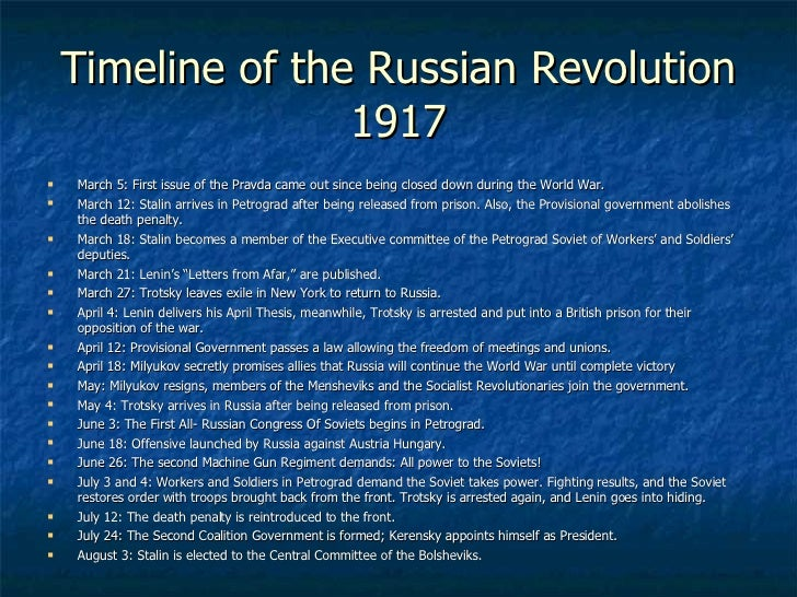 an overview of the importance of russian revolution of 1917 The russian revolution took place in 1917, during the final phase of world war i it removed russia from the war and brought about the transformation of the russian.