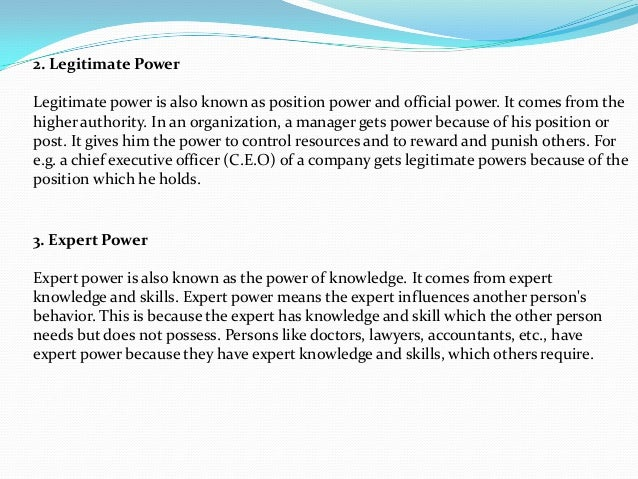 power in organisations essays Lesson:-30 power and organizational politics during discussions of leadership, the question often arises: why or how are leaders able to get.