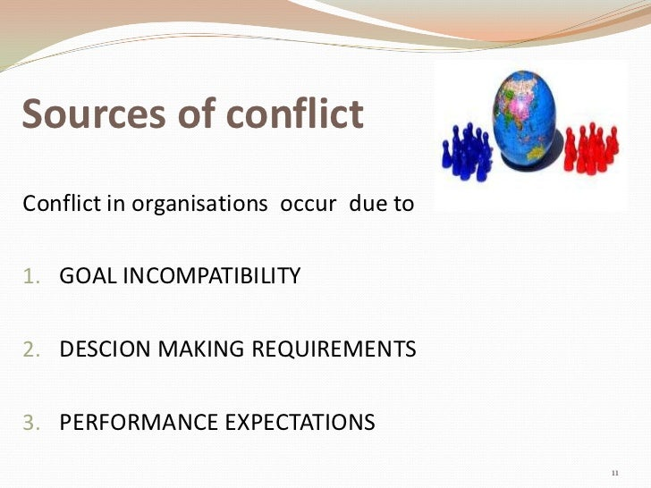 power and conflict in an organization Power and conflict are classic research topics in organizational theory and important practical management issues the goal of this article was to analyse the influence of supervisor power bases and goal interdependence situations over intragroup conflict.