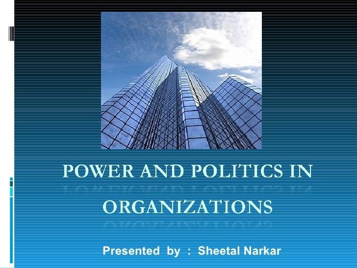 Presented  by  :  Sheetal Narkar