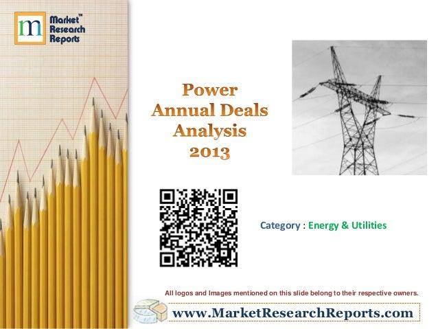 Power Annual Deals Analysis 2013