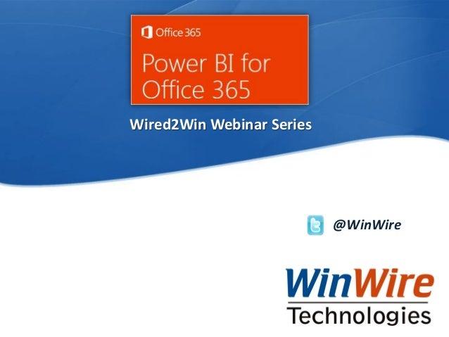 Power BI for Office 365