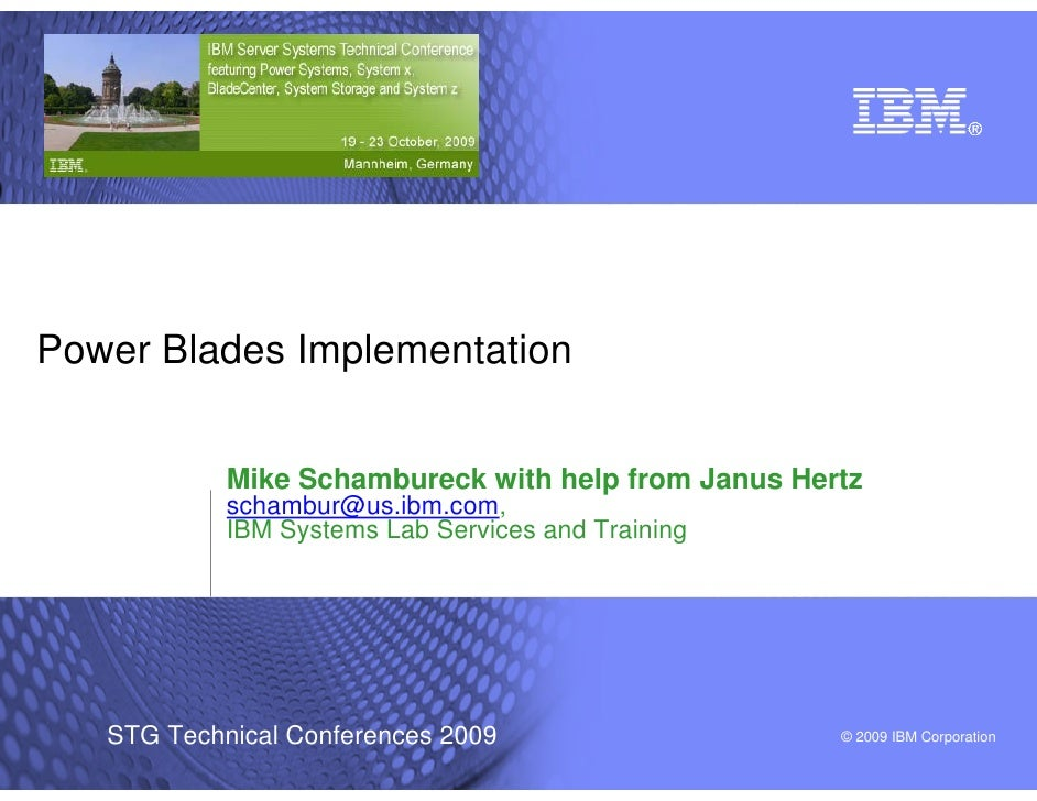 Power Blades Implementation