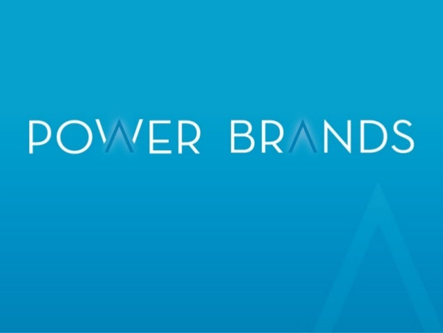 2 Why Us? Power Brands is the world's leading beverage formulation and brand management firm. Power Brands executives are ...