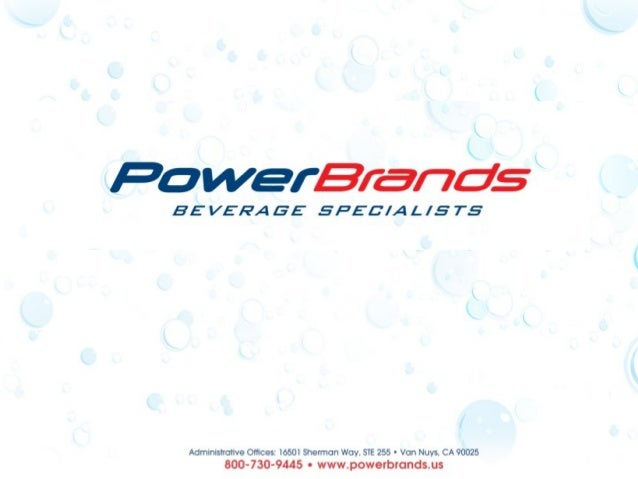 Power Brands is the leading beverage formulation,development and management firm in the U.S.We focus exclusively on the be...